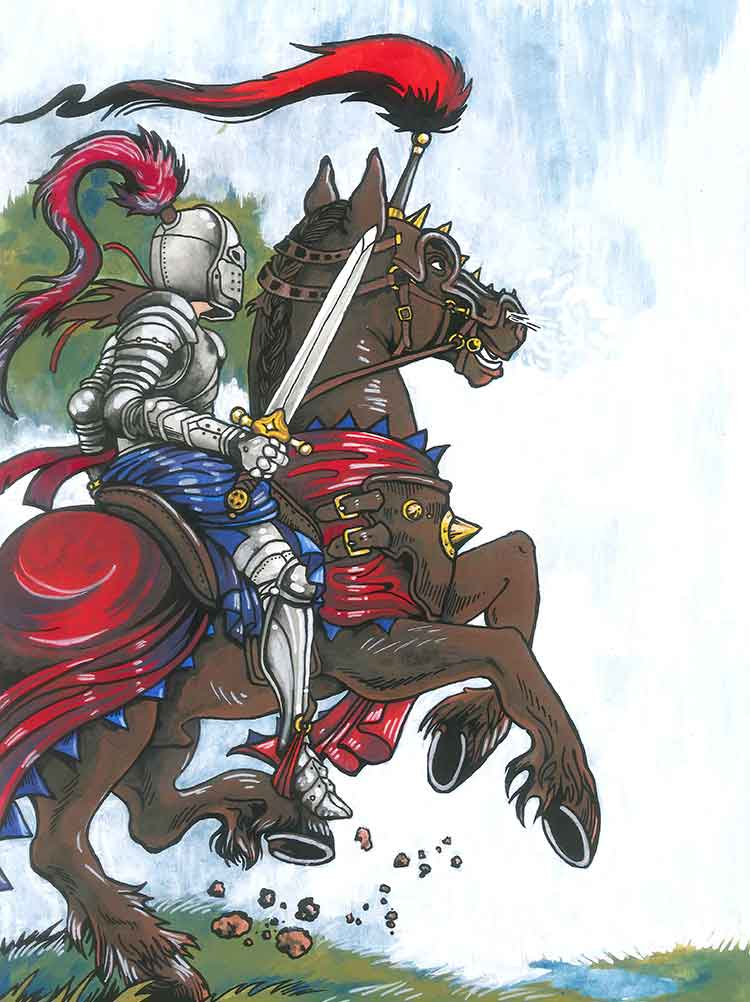 THe Knight Archetype Brian Dale Personal Development Workshops