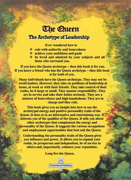 The Queen Archetype Book by Brian Dale Author and Archetype Consultant